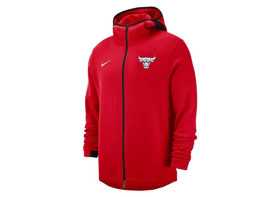 7576ddd65992 NIKE NBA CHICAGO BULLS SHOWTIME DRY HOODIE UNIVERSITY RED price €92.50