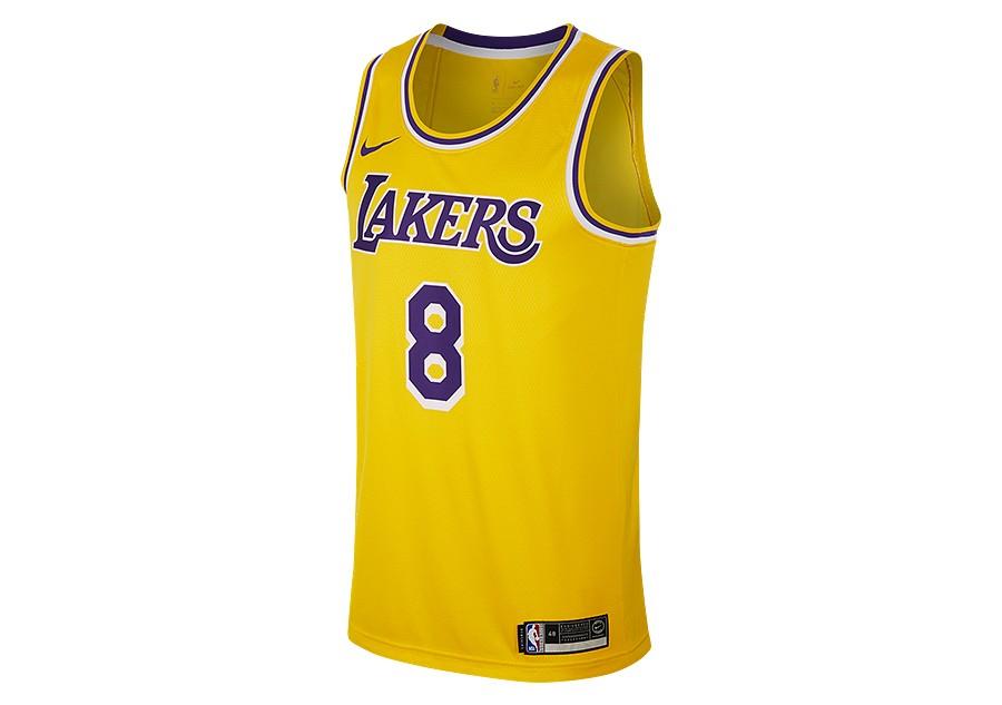 958b4e89ff4e2 NIKE NBA LOS ANGELES LAKERS KOBE BRYANT SWINGMAN ROAD JERSEY AMARILLO price  €92.50