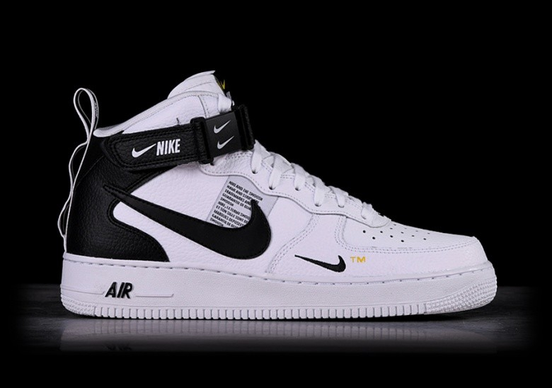 4e685ba1af4317 NIKE AIR FORCE 1 MID  07 LV8 UTILITY WHITE price €115.00 ...