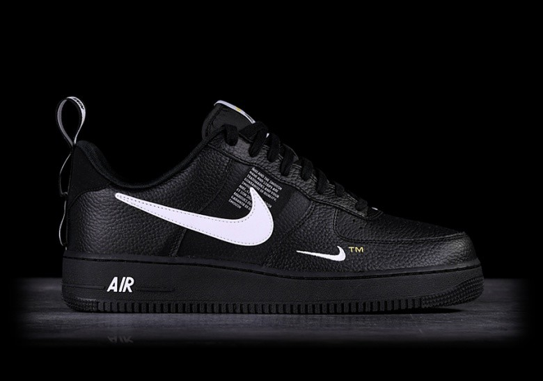 best website 524b8 16c83 NIKE AIR FORCE 1  07 LV8 UTILITY BLACK