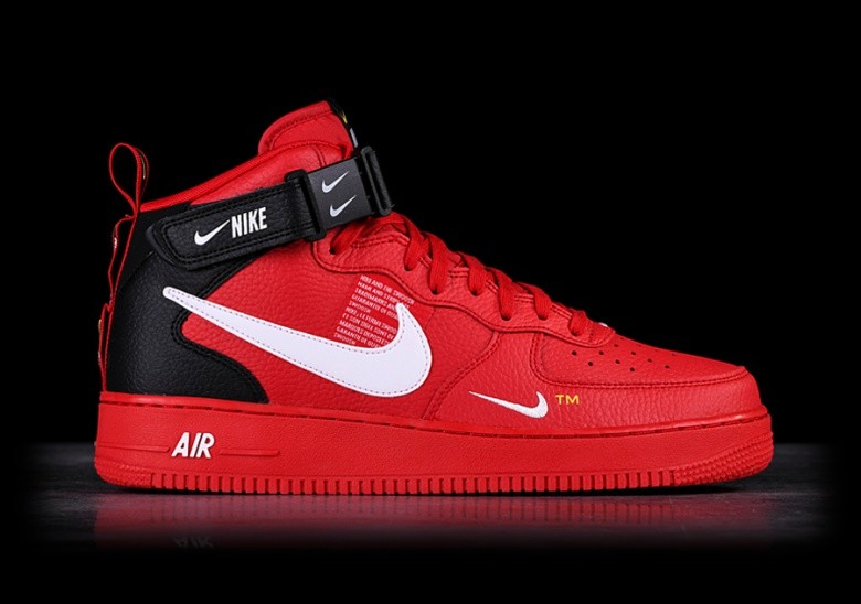 promo code fddeb cfa4b NIKE AIR FORCE 1 MID  07 LV8 UTILITY RED