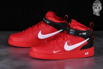 promo code f9b73 924e6 NIKE AIR FORCE 1 MID  07 LV8 UTILITY RED