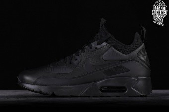 finest selection 51b53 dfd15 NIKE AIR MAX 90 ULTRA MID WINTER BLACK. 924458-004
