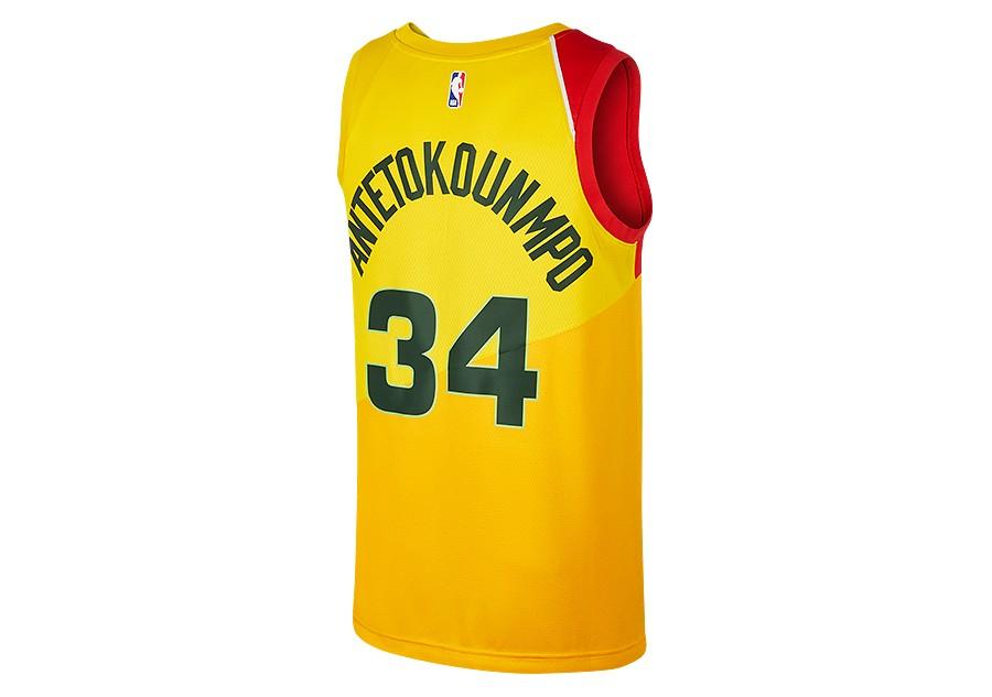 lowest price 78b3b 6da5e NIKE NBA MILWAUKEE BUCKS GIANNIS ANTETOKOUNMPO SWINGMAN ...