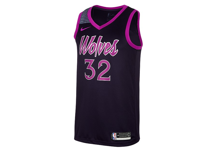 outlet store 15907 2ba93 NIKE NBA MINNESOTA TIMBERWOLVES KARL-ANTHONY TOWNS SWINGMAN ...
