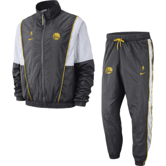 NIKE NBA GOLDEN STATE WARRIORS COURTSIDE TRACKSUIT