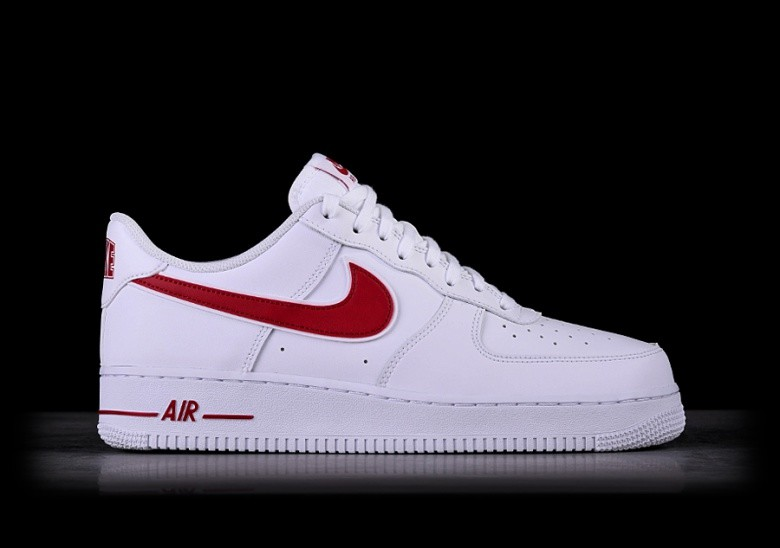 the best attitude 25988 833cd NIKE AIR FORCE 1  07 WHITE GYM RED