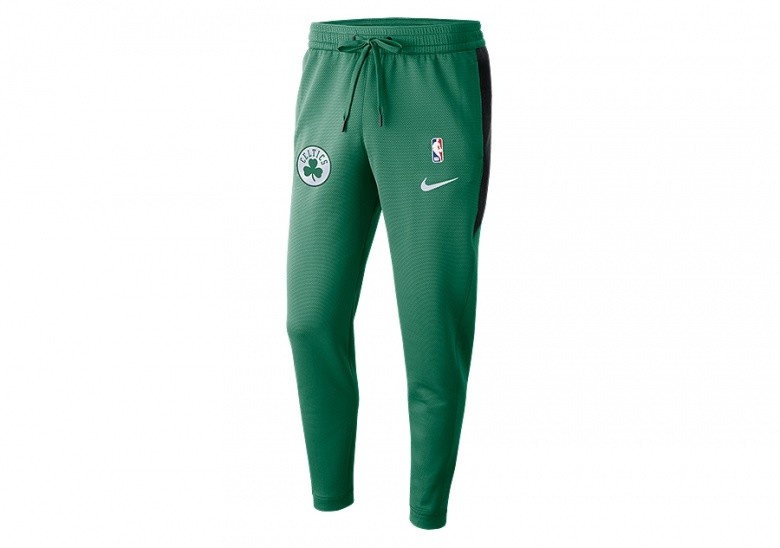 NIKE NBA BOSTON CELTICS THERMAFLEX SHOWTIME PANTS CLOVER