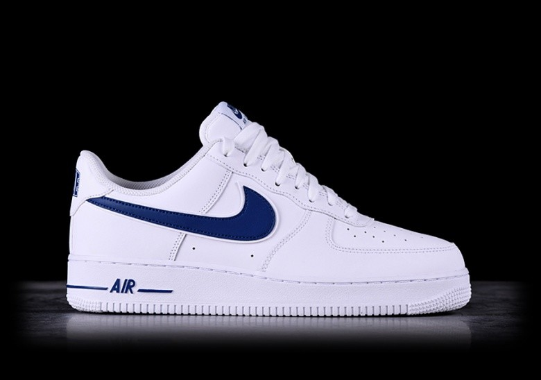 best website fbc6f b8ecf NIKE AIR FORCE 1 '07 3 WHITE/DEEP ROYAL für €97,50 ...