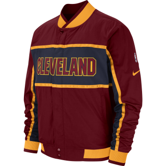 NIKE NBA CLEVELAND CAVALIERS COURTSIDE ICON JACKET