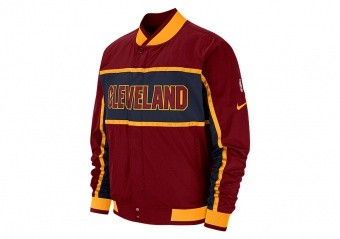 NIKE NBA CLEVELAND CAVALIERS COURTSIDE ICON JACKET TEAM RED