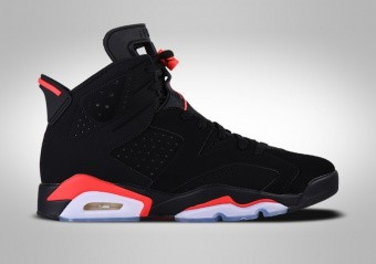 a7726331ce8 BASKETBALL SHOES. NIKE AIR JORDAN 6 RETRO BLACK INFRARED