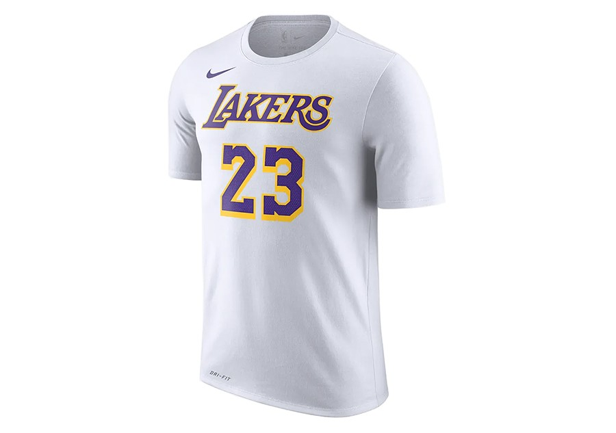 size 40 ec0b0 ce9a2 NIKE NBA LOS ANGELES LAKERS LEBRON JAMES DRY TEE WHITE price €32.50    Basketzone.net
