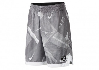 NIKE KD ELITE SHORTS WOLF GREY