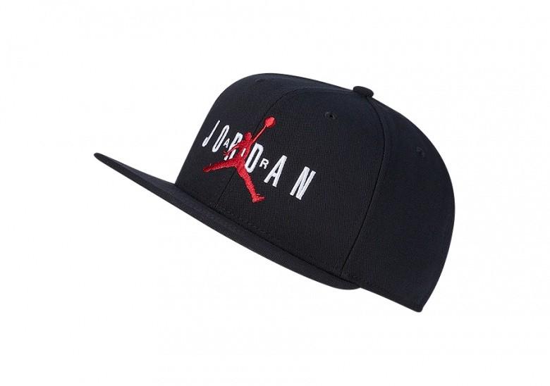 NIKE AIR JORDAN PRO JUMPMAN AIR HAT BLACK