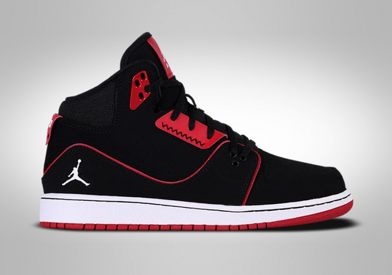 NIKE AIR JORDAN 1 FLIGHT GS BLACK RED