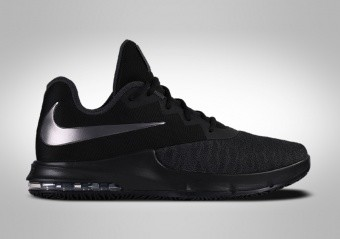 NIKE AIR MAX INFURIATE 3 LOW TRIPLE BLACK