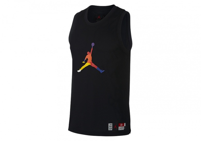 NIKE AIR JORDAN DNA HBR JERSEY BLACK