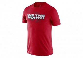 NIKE NBA TORONTO RAPTORS MANTRA DRY TEE UNIVERSITY RED