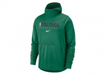 NIKE NBA BOSTON CELTICS SPOTLIGHT PULLOVER HOODIE CLOVER