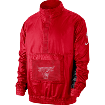NIKE NBA CHICAGO BULLS LIGHTWEIGHT COURTSIDE JACKET