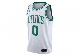 NIKE NBA BOSTON CELTICS JAYSON TATUM SWINGMAN HOME JERSEY WHITE
