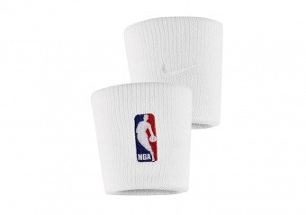 NIKE NBA WRISTBANDS WHITE