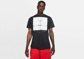 NIKE BALL YEAR Dri-FIT TEE BLACK