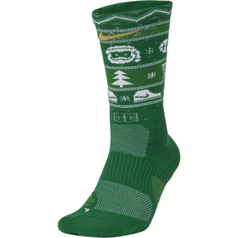 NIKE ELITE CHRISTMAS CREW SOCKS