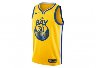 NIKE NBA GOLDEN STATE WARRIORS STEPHEN CURRY JERSEY AMARILLO