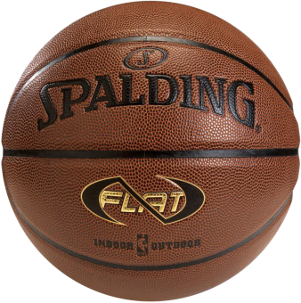 SPALDING  NBA NEVERFLAT IN/OUT SIZE 7 AMBER