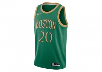NIKE NBA BOSTON CELTICS GORDON HAYWARD SWINGMAN JERSEY CLOVER