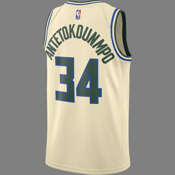 NIKE NBA MILWAUKEE BUCKS GIANNIS ANTETOKOUNMPO SWINGMAN ...