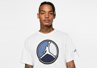 NIKE AIR JORDAN REMASTERED HBR CREW TEE WHITE