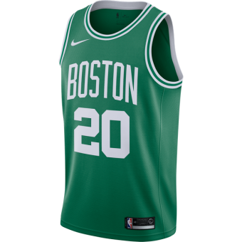 NIKE NBA BOSTON CELTICS GORDON HAYWARD ICON EDITION SWINGMAN ROAD JERSEY