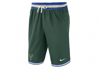NIKE NBA MILWAUKEE BUCKS SHORTS FIR