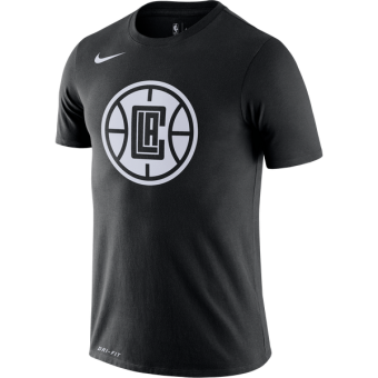 NIKE NBA LOS ANGELES CLIPPERS CITY EDITION LOGO DRI-FIT TEE