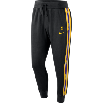 NIKE NBA LOS ANGELES LAKERS COURTSIDE PANTS BLACK