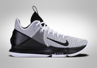 NIKE LEBRON WITNESS IV BLACK WHITE