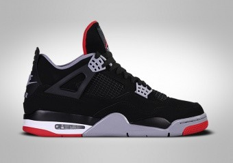 NIKE AIR JORDAN 4 RETRO GS BRED