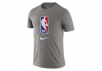 NIKE NBA TEAM 31 DRY TEE DARK GREY HEATHER