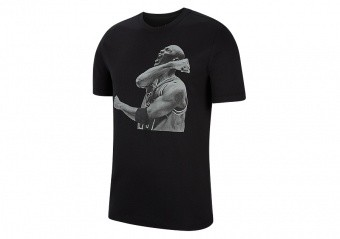 NIKE AIR JORDAN PHOTO CREW TEE BLACK