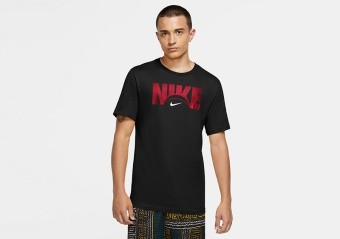 NIKE HBR DRI-FIT TEE BLACK