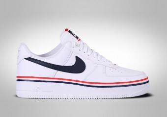 NIKE AIR FORCE 1 LOW '07 LV8 RIBBON WHITE BLUE