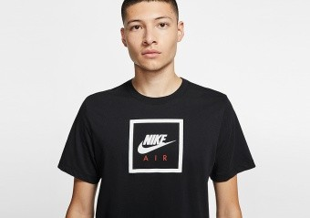 NIKE SPORTSWEAR AIR TEE BLACK