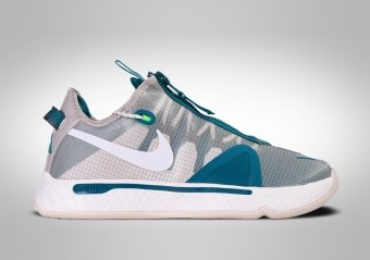 NIKE PG 4 PCG TEAL WHITE PAUL GEORGE