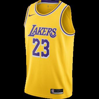 NIKE NBA LOS ANGELES LAKERS ICON EDITION SWINGMAN JERSEY