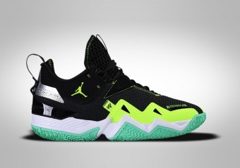 NIKE AIR JORDAN WESTBROOK ONE TAKE GS BLACK VOLT