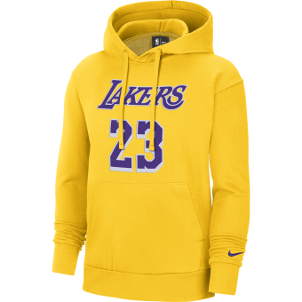 NIKE NBA LOS ANGELES LAKERS ESSENTIAL PULLOVER HOODIE