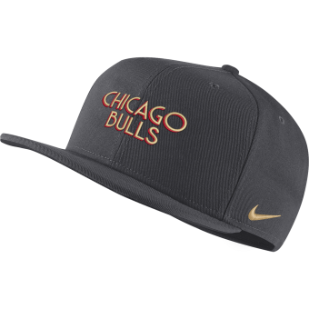 NIKE NBA CHICAGO BULLS CITY EDITION PRO CAP